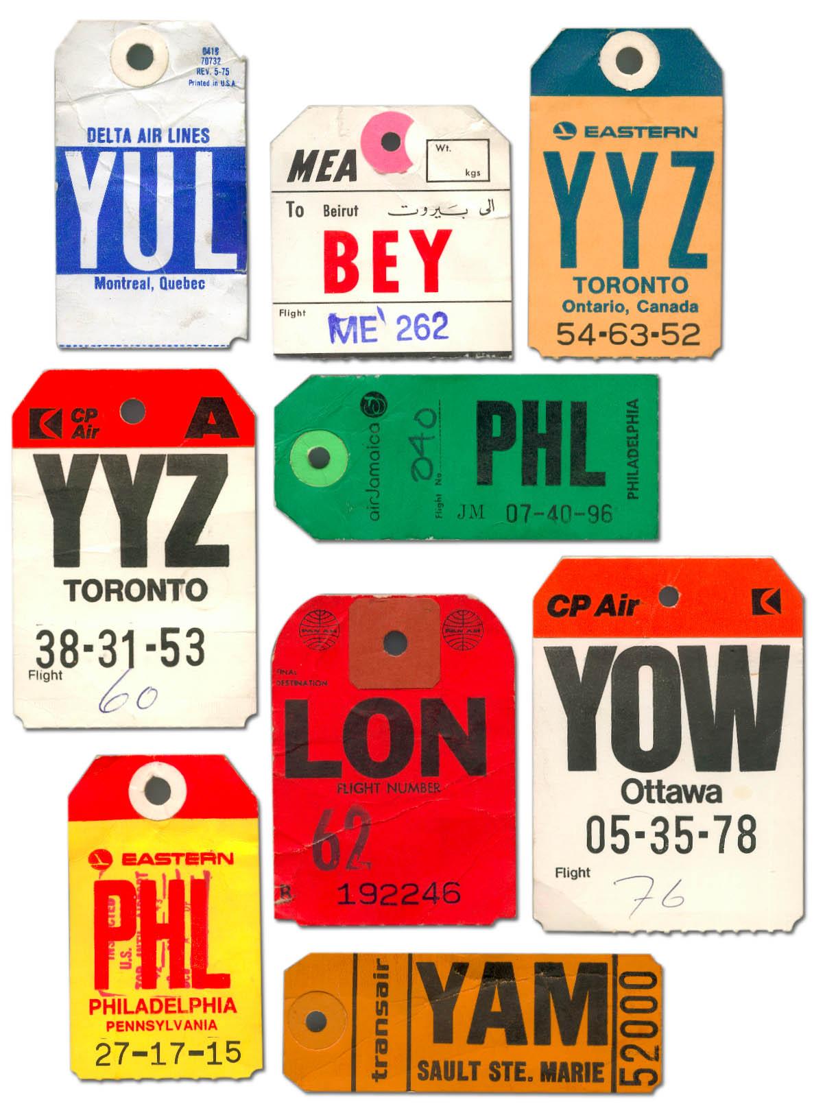 Train Luggage Tag Vintage Luggage Tags