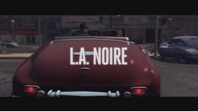 L.A. Noire title
