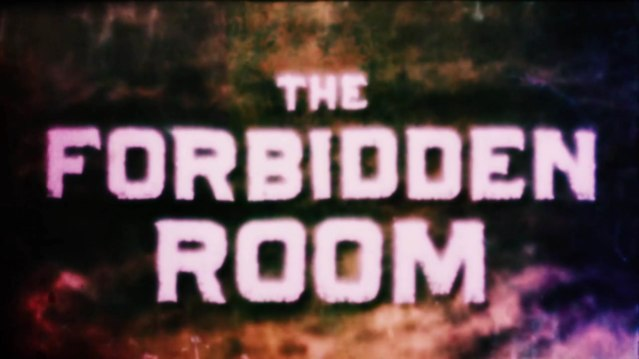 The Forbidden Room titles 1