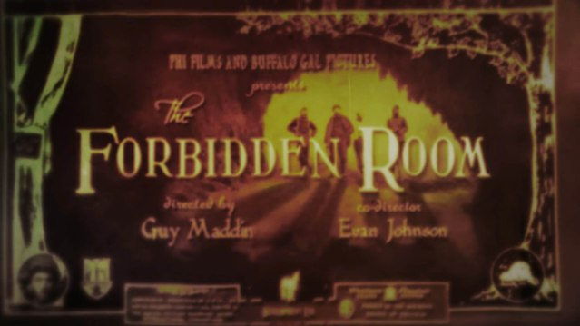The Forbidden Room titles 2